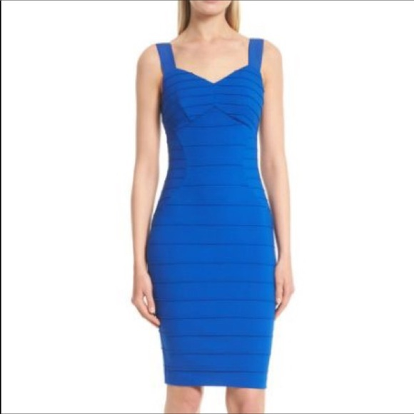 90f3a986131c Ted Baker Blue Bodycon Dress